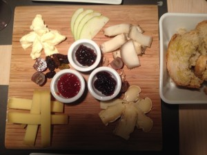 Assortit formatges Viblioteca Triemrestaurant